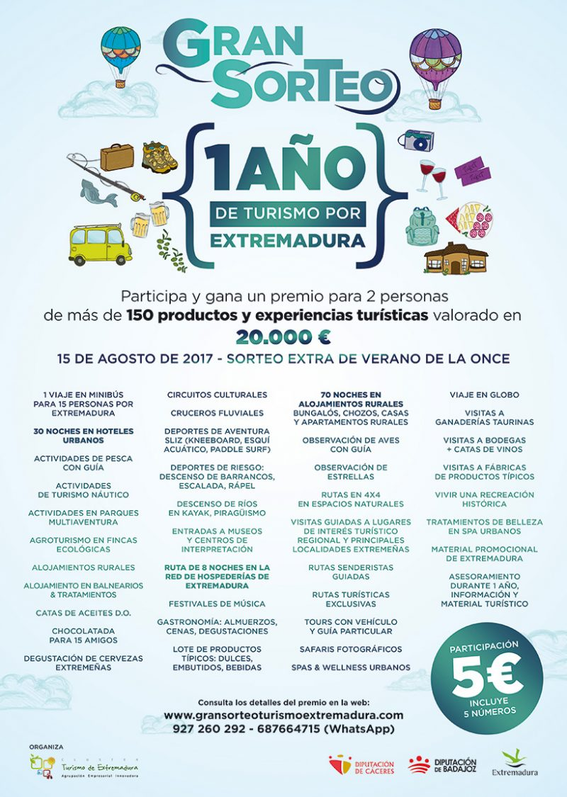 Premios Gran Sorteo Extremadura 2017